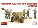 MiniArt GERMAN  7,62 cm GUN  FK288(r) w/CREW NO.35033