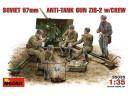 MiniArt SOVIET 57mm ANTI-TANK GUN ZIS-2 w/CREW NO.35035