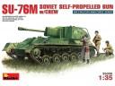 MiniArt SOVIET SU-76M w/CREW NO.35036
