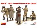 MiniArt SOVIET SELF-PROP. GUN CREW NO.35037