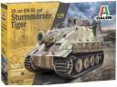 ITALERI 6573 - Scala 1/35  38 cm RW 61 auf STURMMORSER TIGER 突擊虎 砲車 德軍 組裝模型 需黏著+上色