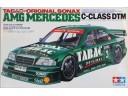 田宮 TAMIYA TABAC-ORIGINAL SONAX AMG MERCEDES C-CLASS DTM 1/24 NO.24143