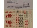 港龍航空 貨機  空中巴士 A-320 1/100 水貼紙