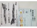 Mig-21 MF Luftwaffe Air Force 1/32水貼紙