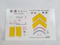 F-86F 軍刀機 1/48 水貼紙